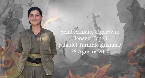 ŞEHİT ARMANC CİGERXWIN